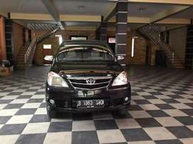 Toyota Avanza(G)MT(2011)B nomor jaminan km 73 rb