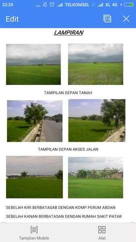 Tanah Stategis di Kuala Namu