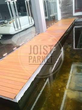 lantai kayu parket flooring decking ulin super