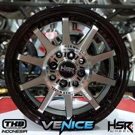 Velg Mobil racing ring15 HSR bisa untuk mobil Avanza dan Agya