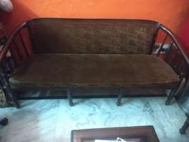 5 Seater with Glass center table
