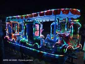 odong odong mini coaster kereta lantai NS kereta panggung truk