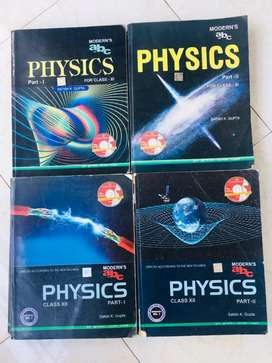 MODERNS ABC PHYSICS in great condition+ FREE PREPARATORY MAGAZINES