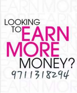 Joining And Earning. Work From Hom*