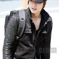 Jaket Kulit Lee Min Ho Style Drakor City Hunter SK-80