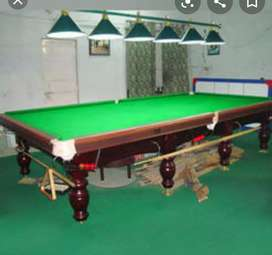 Snooker tables, pool table,