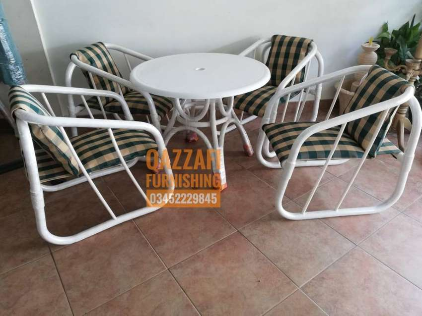 Set of UPVC  Garden Chairs on sale 0