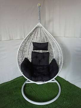 Swing chairs for enjoy your mrning tea
