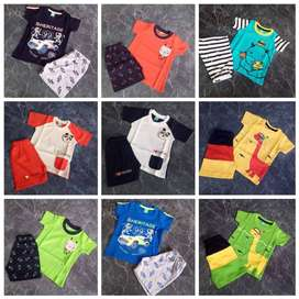 Stylish SUMMER Shorts Export summer stocklot wholesale garments t-shir