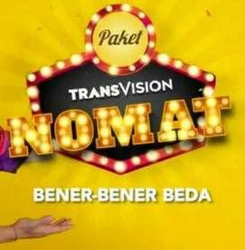 Gebyar murah parabola Transvision HD kota Batam promo setahun Rp750k