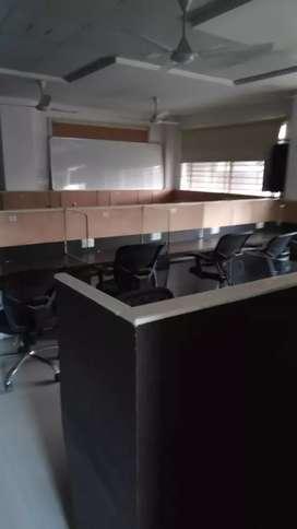 Furnished office space at vijay nagar