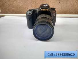 Canon 7D DSLR camera with 18-135mm lens in Good condition.