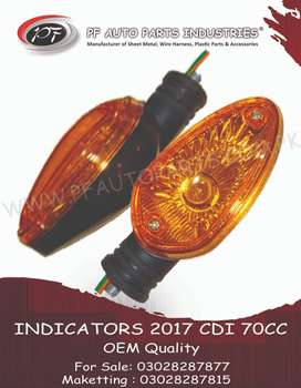 Super star 2017 Indicators L & R Front