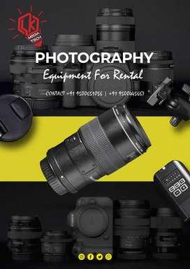 Camera and lighting equipment