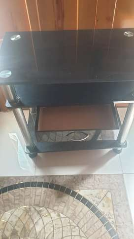 Computer table in black colour