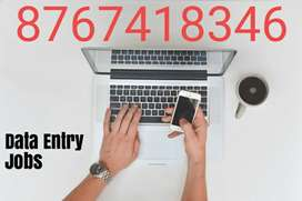 offers Data entry part time jobs for freshers