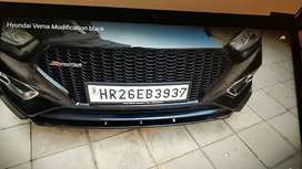 Verna fluidic bumper lips with sides