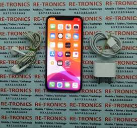 /iPhone X-256 GB Storage-Color White-Box And Charger/