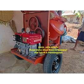 Mesin Molen Cor Beton Semen Goodwill Diesel Yanmar tf 65 R di