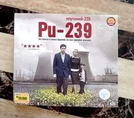 VCD PU-239 (ORIGINAL) 2 DISC KONDISI OPEN SEGEL, COVER DAN CD MULUS