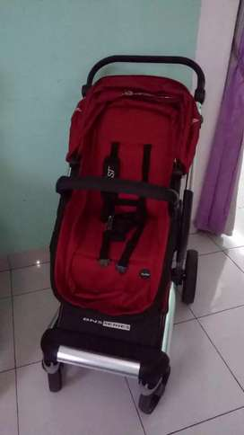 Stroller cocolate mist red