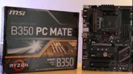 motherboard MSI b350 PC mate