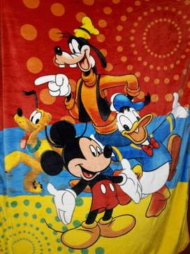 Disney Mickey Mouse And Friends Print blanket ...