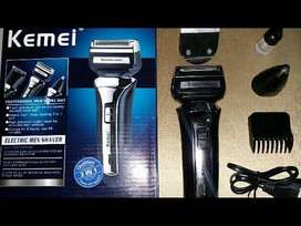 Multifunctional Shaving Hair Clipper With Shaver Trimmer And Nose Trim