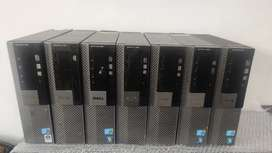 Dell silm cpu i3 4gbram 250gb hard disk with warranty and bill