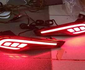 LED bumper lampu mata kucing CRV turbo audi