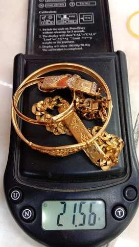 Terima emas tanpa surat,rusak,patah,penyok,lama,dll, COD