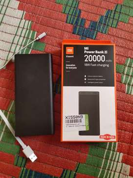 I am sell for a powerbank . This is a new power bank 20000 MAH
