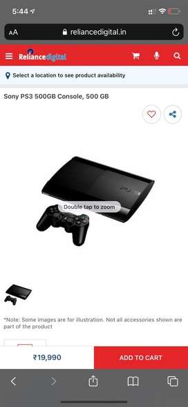 Playstation 3(500GB) with 10 games and motion controller