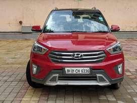 Hyundai Creta 1.6 CRDi SX Plus, 2016, Petrol