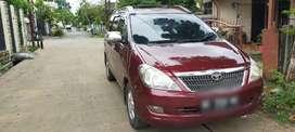 Di jual Mobil Toyota Inova Tipe E 2005