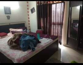 1 bedroom for rent in a fully furnished 3bhk flat in sector 75