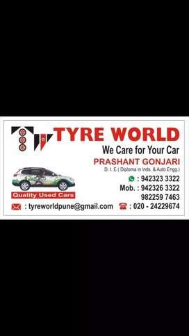 Mechanics required in tyre shop