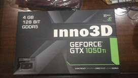 Inno3D GTX 1050 Ti TWINX2 4 GB 128 BIT GDDR5