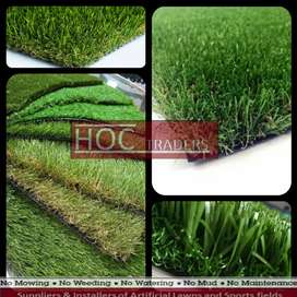 Home decoration with artificial grass or astro turf