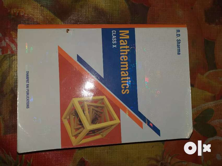 RD Sharma Class 10 Mathematics guide and question bank. 0