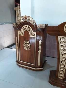 Mimbar masjid as salam