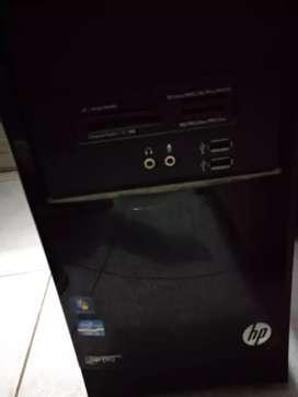 Jual satu set komputer rumahan  hp core i5