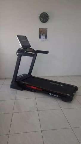 Treadmill elektrik tl 126 otomatis incline