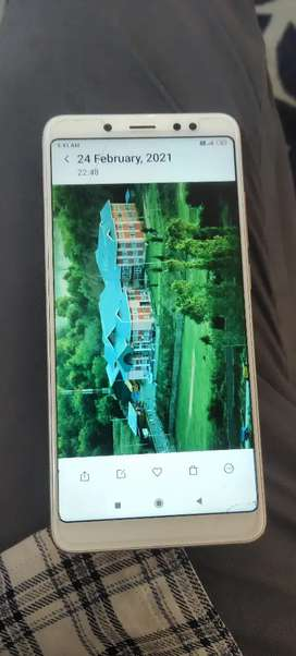 Mi note 5 pro 4/64 neat condition sell or exchange