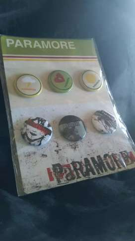 Paramore Original Official Button Pins Imported from U.S.