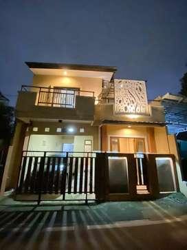 Rumah mewah dan 7 kamar kos full furnished di Ceger Jakarta Timur