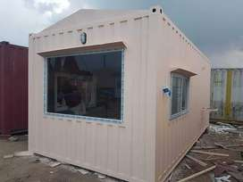Mobile container steel building cabin