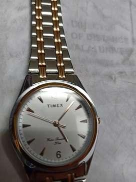 Timex men's metal watch