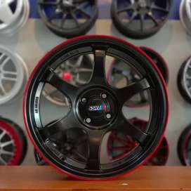VELG SSR TYPE C,17X7,5,H4X100,BUAT: TIMOR,FREED,YARIS,JAZZ,VIOS,SWIFT