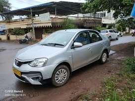 Toyota Platinum Etios 2017 Diesel 83000 Km Driven